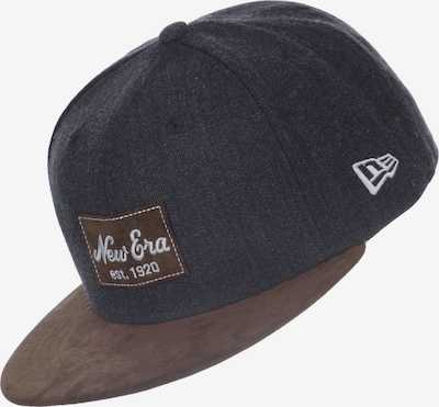 NEW ERA Pet ' Heather Suede ' in de kleur Grijs gemêleerd, Productweergave
