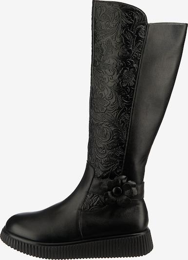 Laura Vita Klassische Stiefel 'Idcao15' in schwarz, Produktansicht