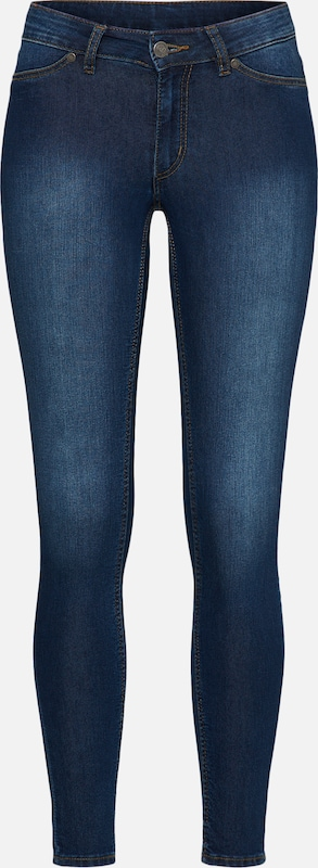 CHEAP MONDAY Jeggings 'Mid Spray' in blau, Produktansicht