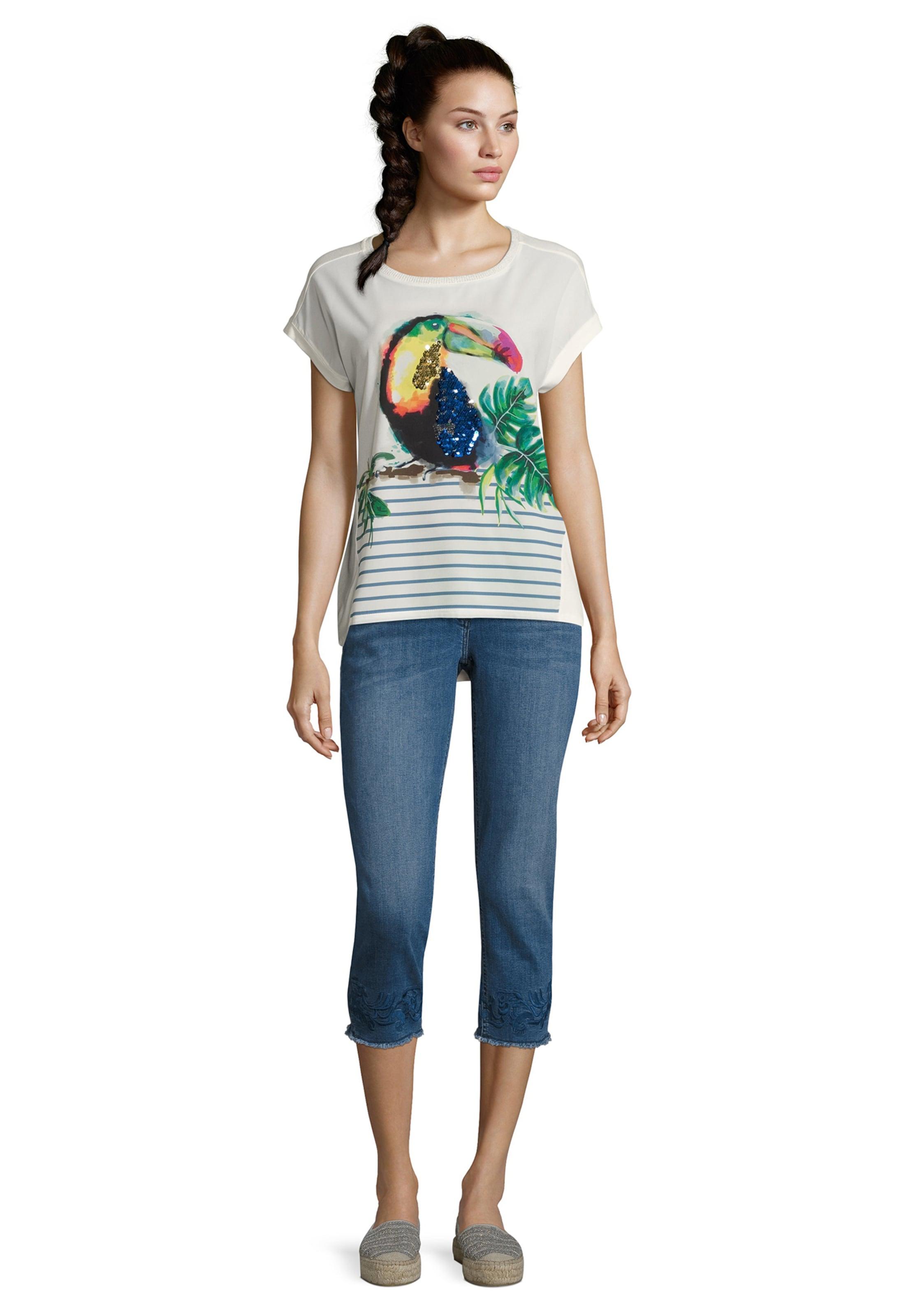 Shirt Betty Grasgrün RauchblauGelb Barclay In Y76gfybvmI
