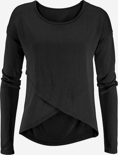 LASCANA Strandpullover in schwarz, Produktansicht