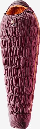 DEUTER Kunstfaserschlafsack 'Exosphere -6° SL' in bordeaux, Produktansicht