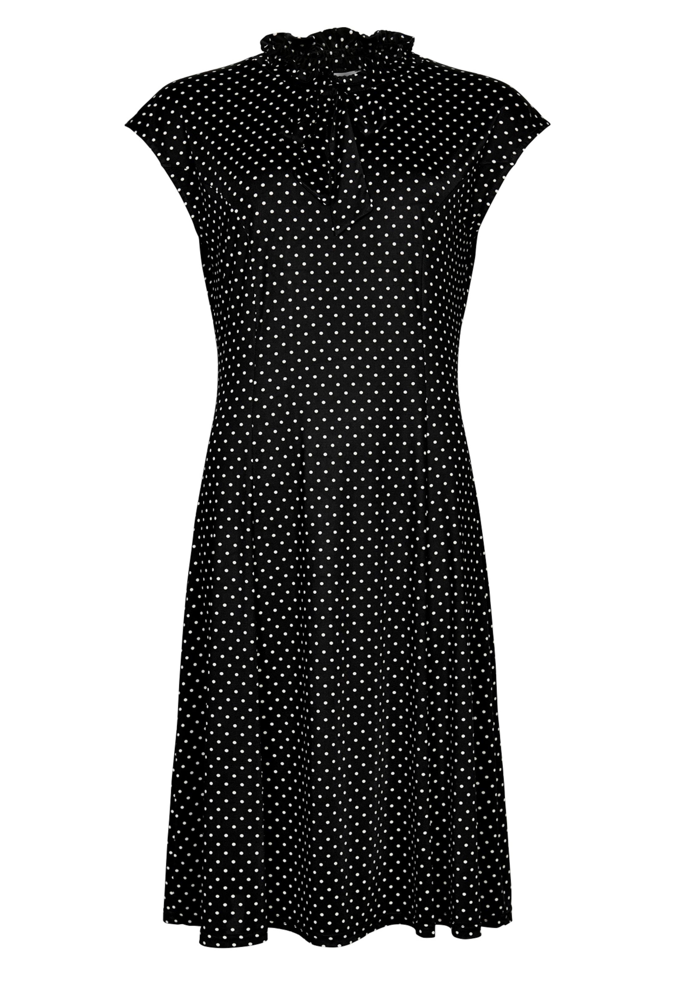 In 'sylvie' Front Front In Kleid In SchwarzWeiß SchwarzWeiß 'sylvie' Front Kleid yg76Ybf