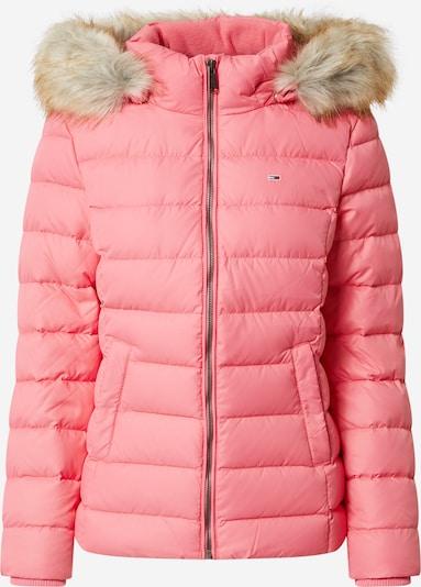 Tommy Jeans Winterjas in de kleur Beige / Pink, Productweergave