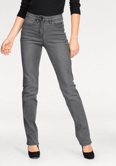 ARIZONA Jeans 'Gerade Form' in grau, Modelansicht
