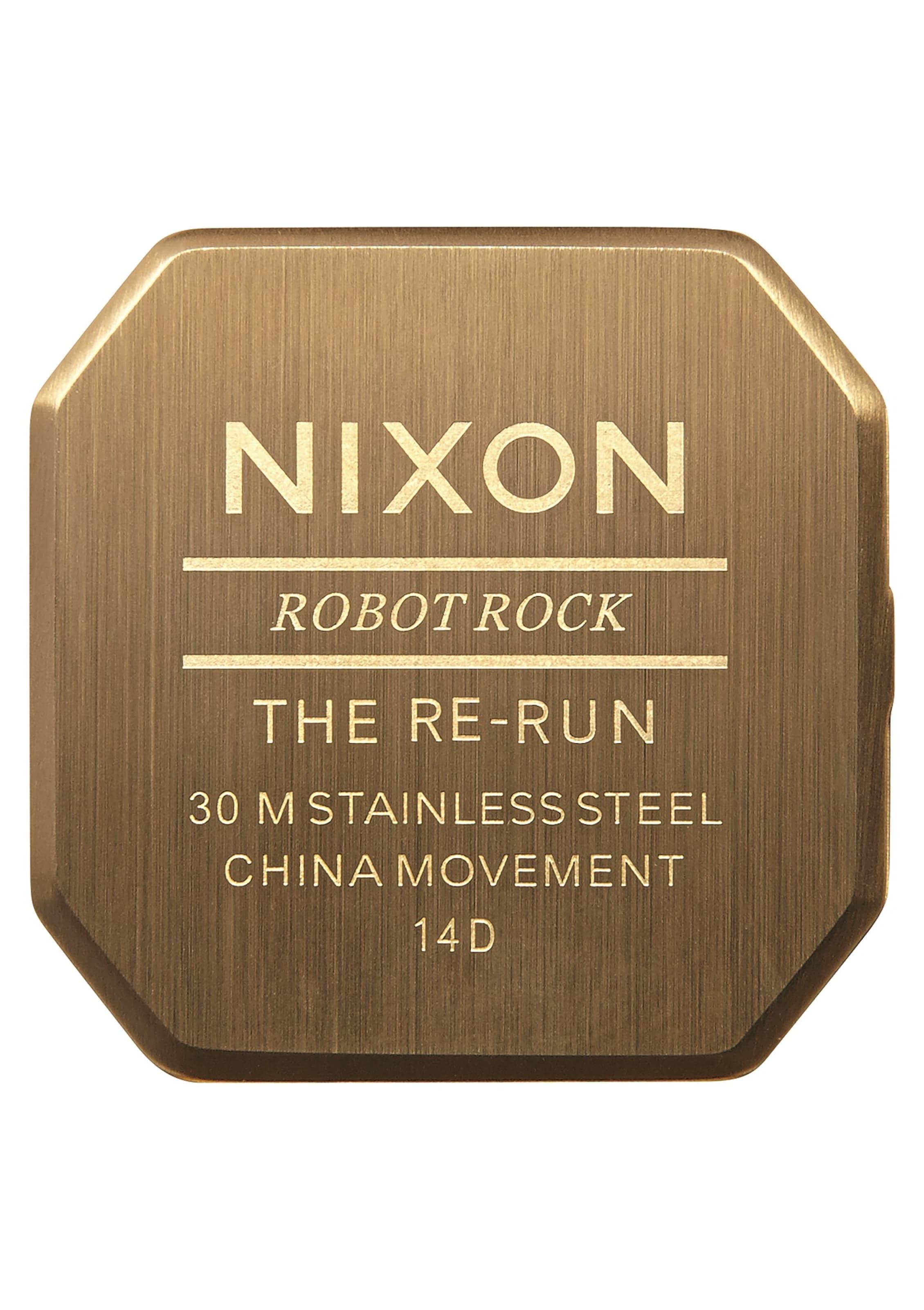 Nixon Armbanduhr 'Re-Run' Billig Billig hwtrUNq