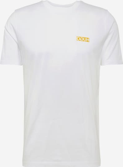 HUGO T-Shirt 'Durned202' in weiß, Produktansicht
