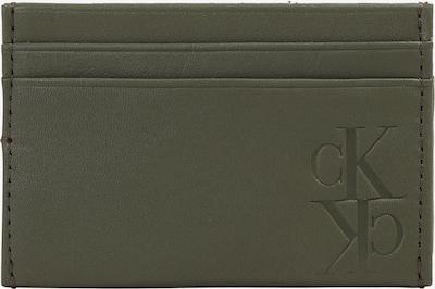 Calvin Klein Jeans Geldbörse 'MIRROR MONOGRAM' in oliv, Produktansicht