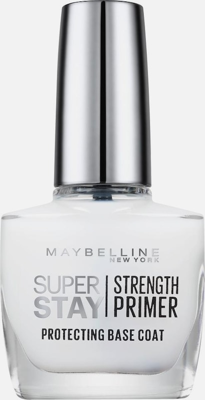 MAYBELLINE New York 'Superstay Nagelpflege Strength Primer Base Coat NU 02', Nagelpflege