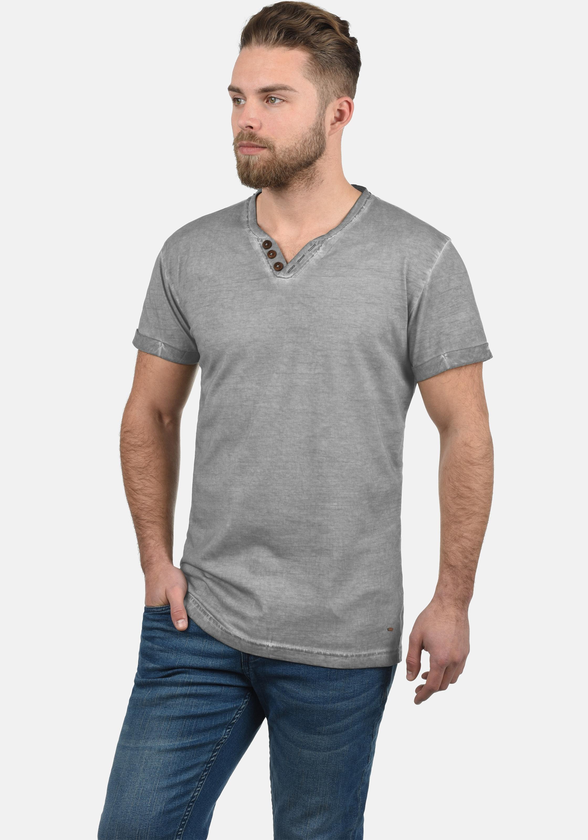 Tino In Shirt Shirt solid solid Shirt Tino In solid Grau Grau Tino CdBthrxQs