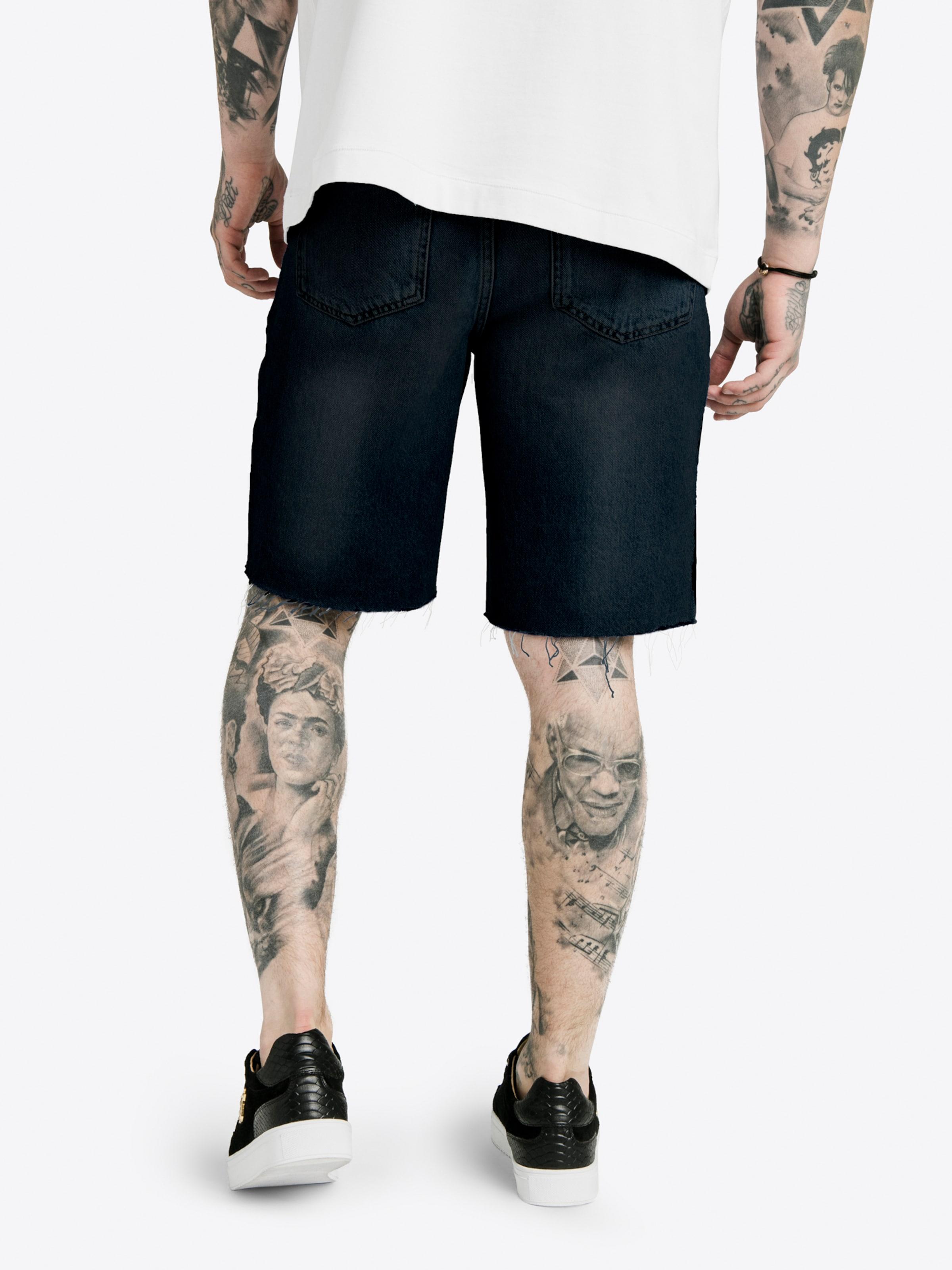 Noir Dani En X Siksilk Pantalon 'siksilk Alves' H29EWDI
