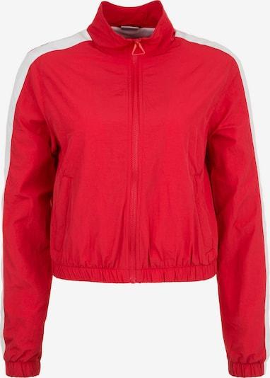 Urban Classics Jacke in rot / weiß: Frontalansicht