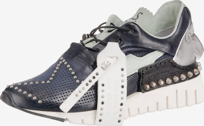 A.S.98 Sneakers Low in kobaltblau / silber, Produktansicht