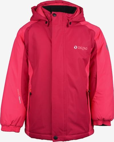 ZigZag Winterjas 'Baji' in de kleur Pink, Productweergave