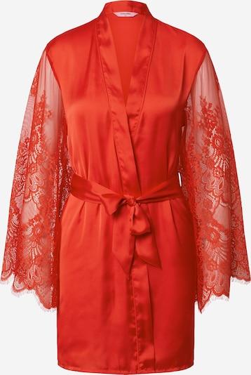 Hunkemöller Robe de chambre 'Fancy Lace' en rouge, Vue avec produit