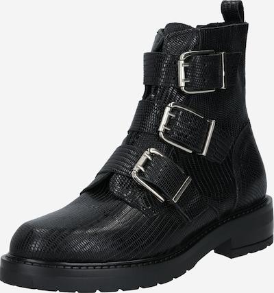 PAVEMENT Stiefel in schwarz: Frontalansicht