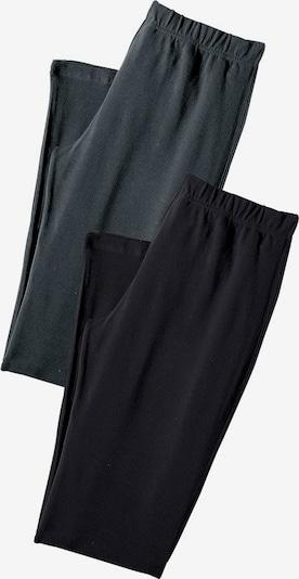 VIVANCE Leggings in de kleur Antraciet / Zwart, Productweergave