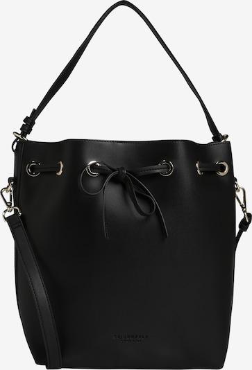 Seidenfelt Manufaktur Tasche 'Motala' in schwarz, Produktansicht