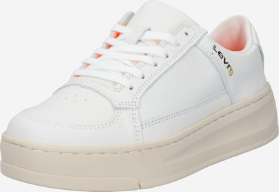 LEVI'S Baskets basses 'SILVERWOOD' en blanc: Vue de face