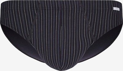 HUBER Brasil Slip Tyson in tollem Streifen-Design in schwarz, Produktansicht