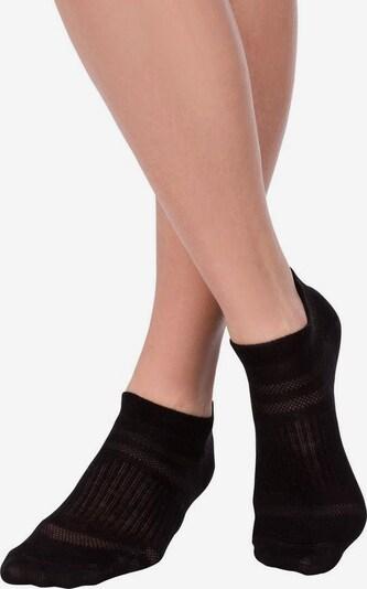 LASCANA ACTIVE Sneakersocken in schwarz, Produktansicht