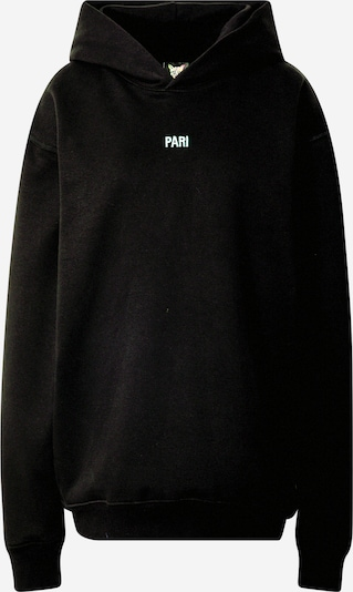 PARI Sweatshirt 'SPORTS CLUB' in de kleur Zwart, Productweergave