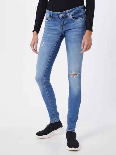 ONLY Jean 'ONLCORAL SL DNM JEANS' en bleu denim, Vue avec modèle