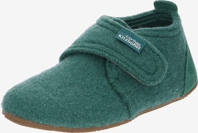 Living Kitzbühel Huisschoenen in de kleur Groen, Productweergave