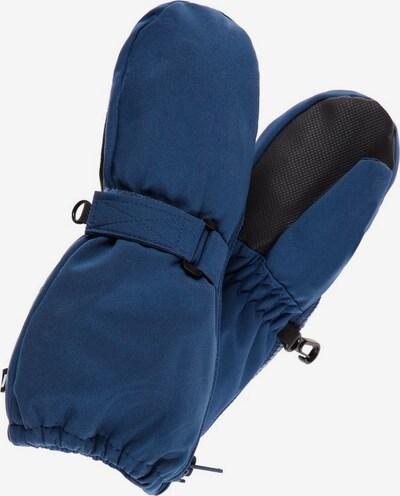 NAME IT Gants en bleu / noir, Vue avec produit