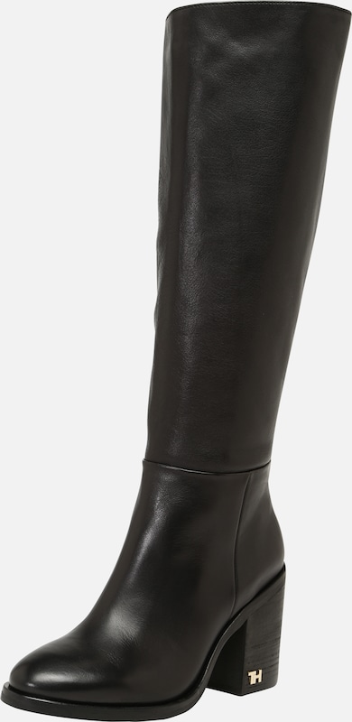 Mode Tommy Hilfiger Oxley Stiefeletten Schwarz Kombi Für