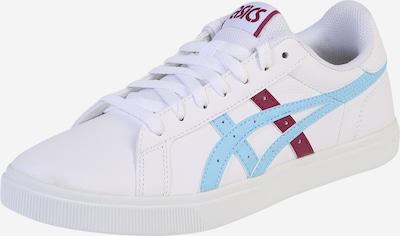 ASICS SportStyle Sneaker 'Classic CT' in hellblau / kirschrot / weiß, Produktansicht