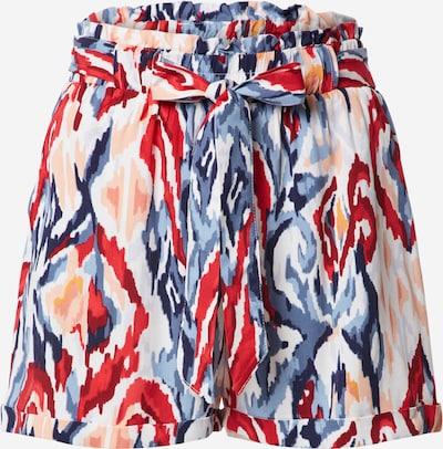 ONLY Shorts 'ONLALMA' in blau / lachs / rot, Produktansicht