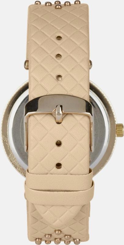 heine Armbanduhr mit gesteppter Optik