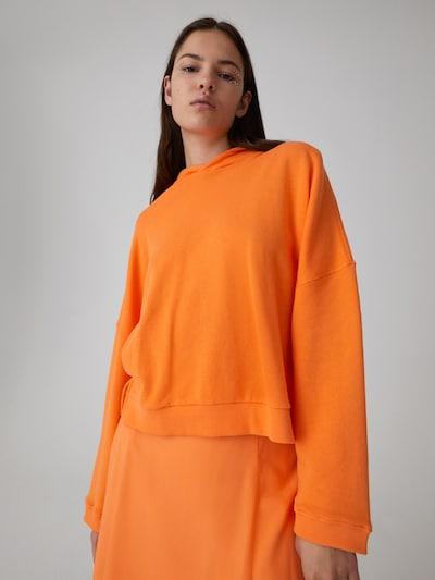 EDITED Bluzka sportowa 'Cherell' w kolorze pomarańczowym, Podgląd na modelu(-ce)