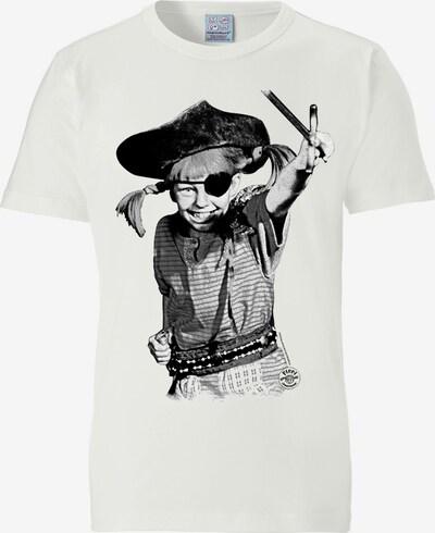 LOGOSHIRT T-Shirt 'Pirate' in offwhite, Produktansicht