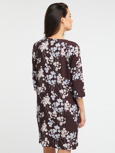 Suknelė 'OONA' iš BROADWAY NYC FASHION , spalva - ruda / mišrios spalvos: Vaizdas iš galinės pusės