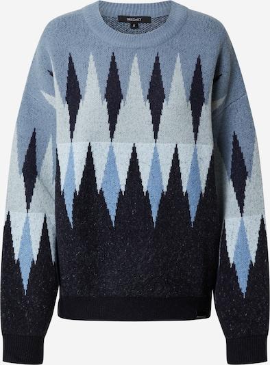 Iriedaily Sweter 'Fady' w kolorze beżowy / podpalany niebieski / niebieska noc / jasnoszarym, Podgląd produktu