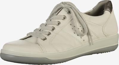 Jenny Sneaker in silber / weiß, Produktansicht