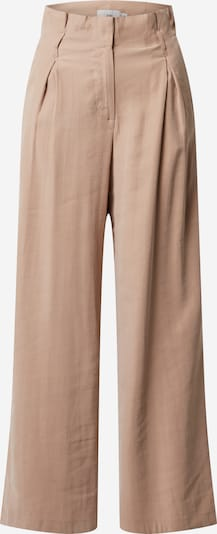 ICHI Pleat-front trousers in beige, Item view
