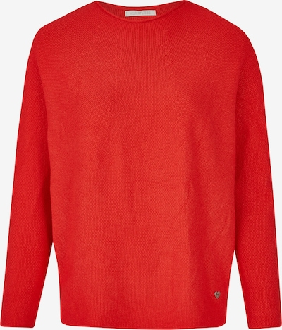 Heimatliebe Pullover in rot, Produktansicht