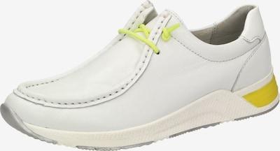 SIOUX Schnürschuh in neongelb / weiß, Produktansicht
