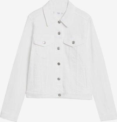 MANGO Prehodna jakna | bela barva, Prikaz izdelka