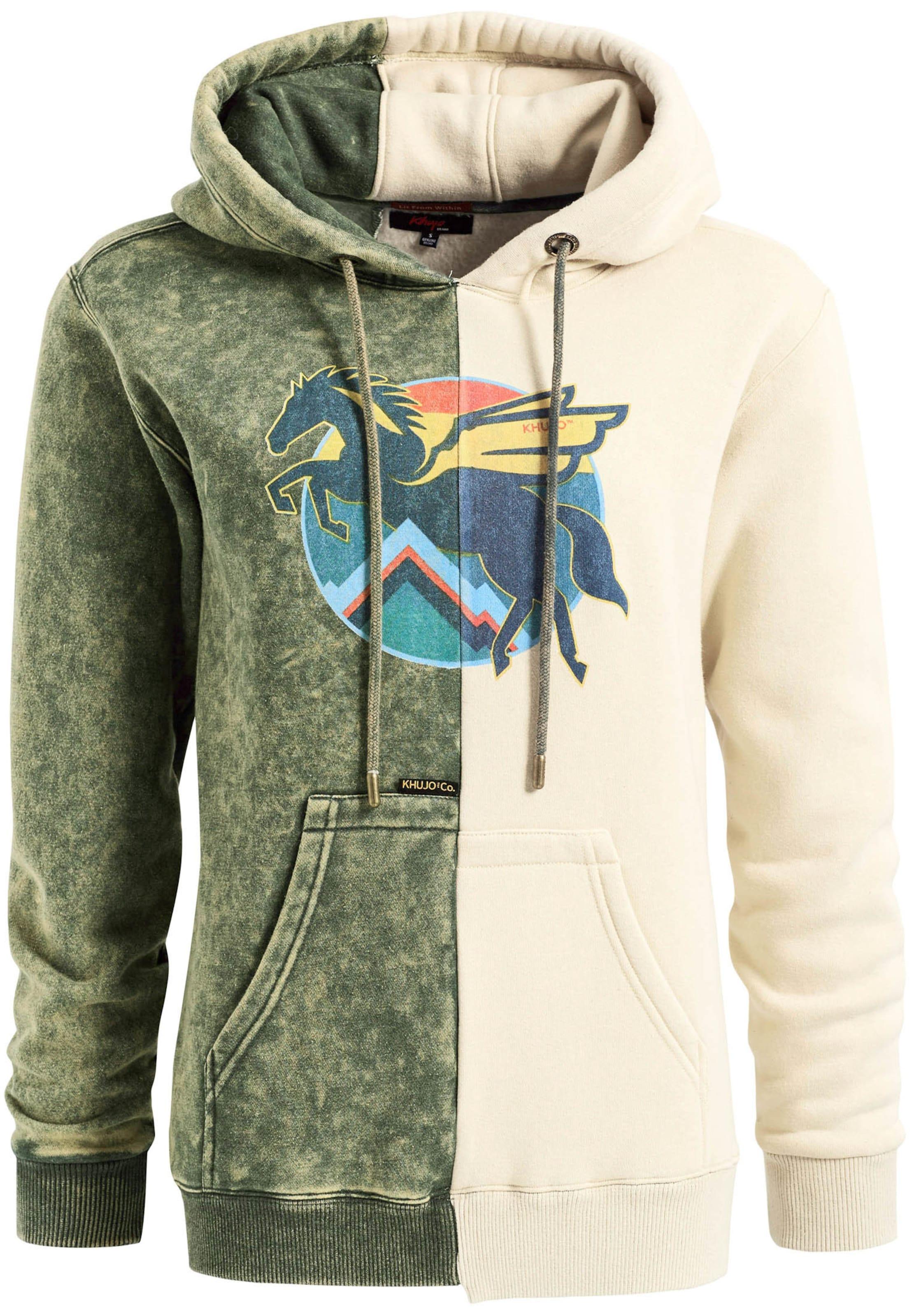 Hellgelb In Sweatshirt Horse' Türkis Khujo Koralle 'hestia CremeNavy Tanne Ybv6gI7yf