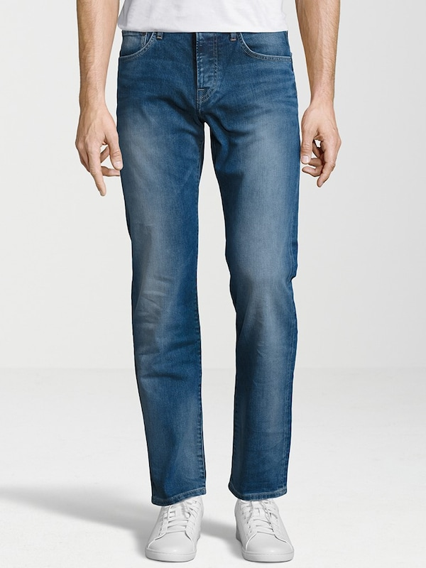 Pepe Jeans Jeans 'CANE' in blue denim: Frontalansicht