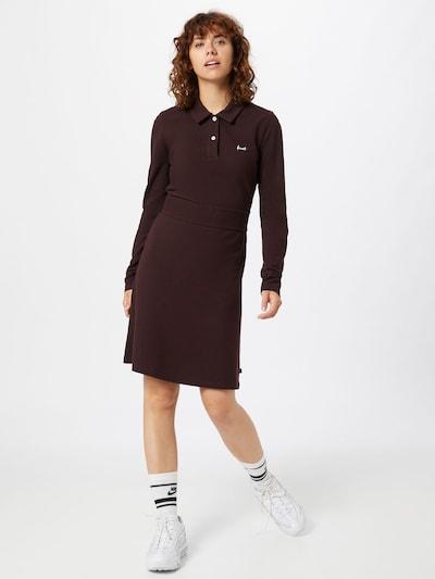 Forvert Kleid 'Doreen' in burgunder, Modelansicht