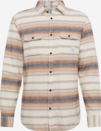 Only & Sons Hemd 'ALEX' in beige / creme / taubenblau / hellbraun / pastellorange, Produktansicht