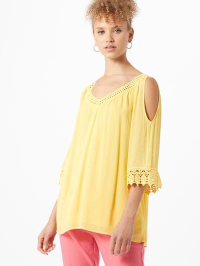 Ci comma casual identity Bluse in gelb, Modelansicht