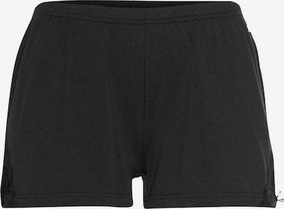 LASCANA Pyjamashorts 'Anemone' in schwarz, Produktansicht