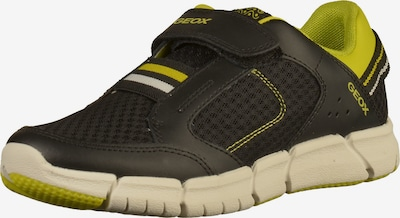 GEOX Sneaker in zitrone / schwarz, Produktansicht
