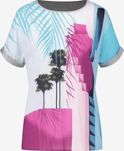 GERRY WEBER T-Shirt 1/2 Arm Shirt mit bedrucktem Vorderteil in mischfarben, Produktansicht